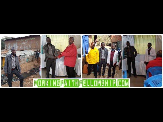 Brother William Preaching - WFF Kibera Slum Kenya