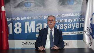 Belediye Başkanı Sayın Ülgür Gökhan'ın 18 Mart 2018 Konuşması