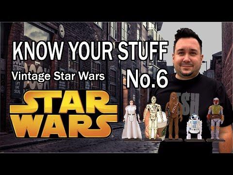 Know Your Stuff Vintage Star Wars Figures for Garage Sales, Ebay & Amazon