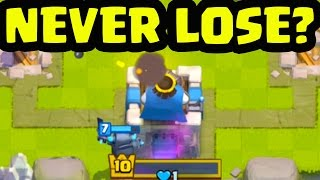 NEVER LOSE' In Clash Royale? Here's MY Answer!