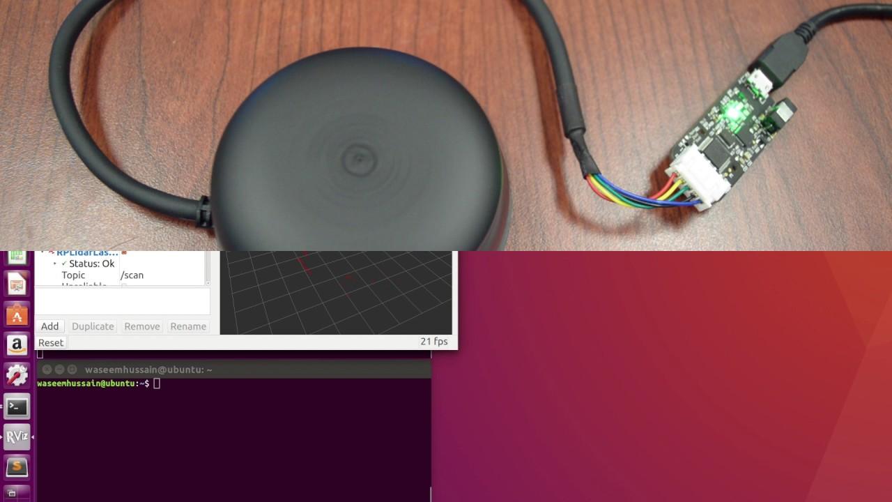 RPLIDAR - Comunicacion XBEE - Raspberry by sergio aranda egusquiza