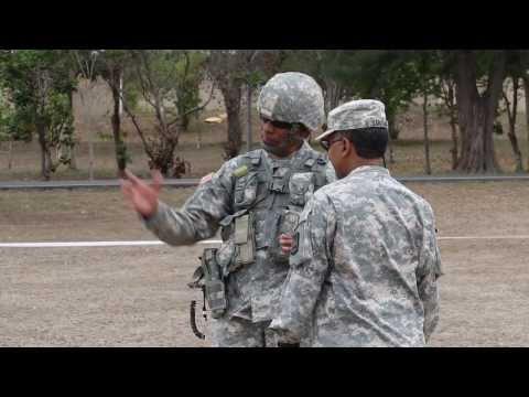 Entrenamiento de la Guardia Nacional