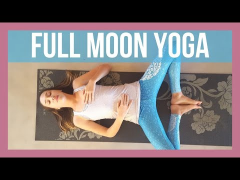 ✦ ☾ Full Moon Yoga ☽ ✦ - Moon Salutations Slow Flow {40 min}