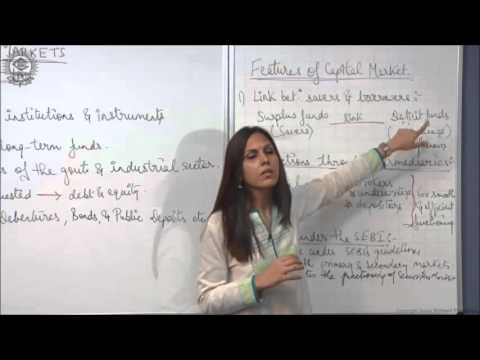 Features of Capital Market Class XII Bussiness Studies by Dr  Heena Rana