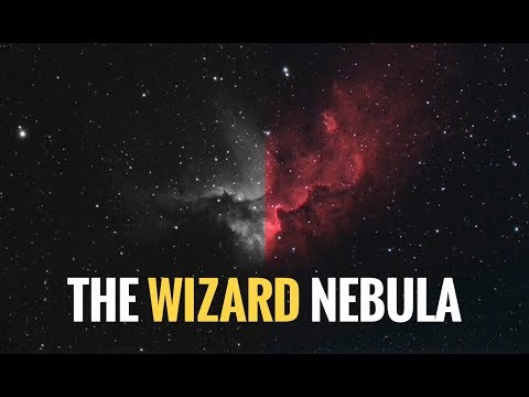 The Wizard Nebula in HA+RGB (Color Camera)