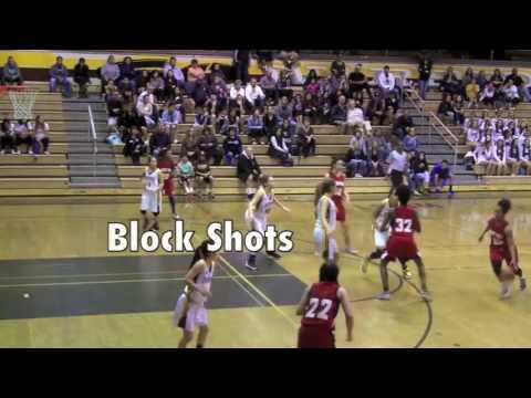 #14 Haley Jones Basketball 2016
