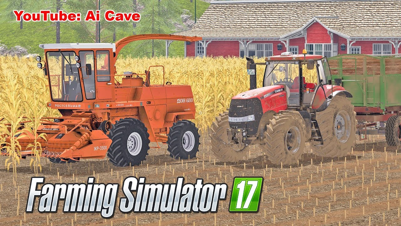 Farming Simulator 2017 - Corn silage - Forage harvester and other mods