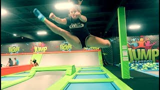 Bowling and Trampoline Gymnastics!