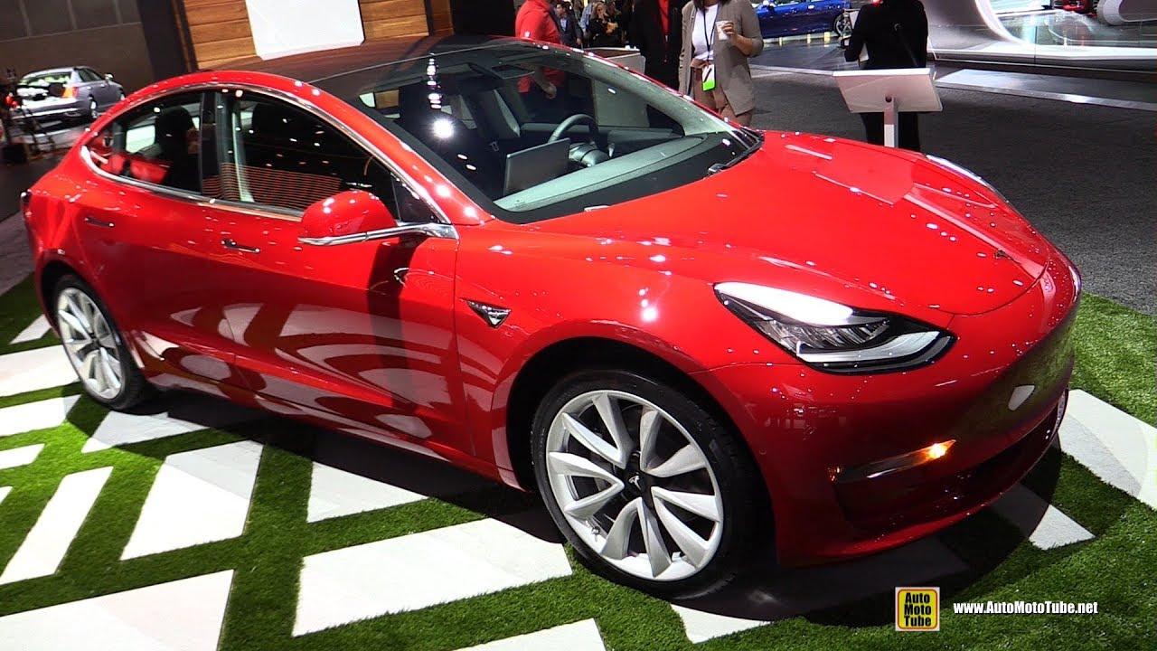 2018 Tesla Model 3 Walkaround 2017 La Auto Show
