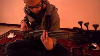 Our Oceans - Robin playing Reawaken (bass play-through)