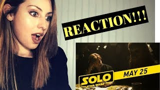 "SOLO: A STAR WARS STORY ""CREW"" TV SPOT REACTION!!"