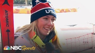 2018 Winter Olympics: Recap Day 6 (Mikaela Shiffrin) I Part 1 | NBC Sports