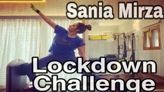 Sania Marza  Challenge her Sisters and Fans | Lockdown | Exercise at  Home  | NRsports