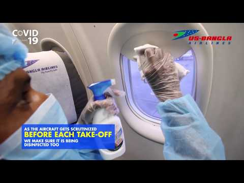 US-Bangla Airlines Taking Precautions Against COVID19