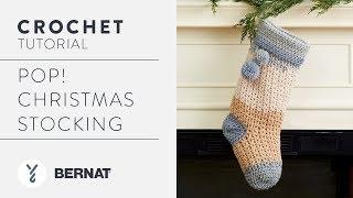 How to Crochet: Pop! Christmas Stocking