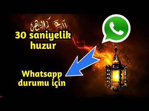 30 saniyelik huzur (Whatsapp durumu için)