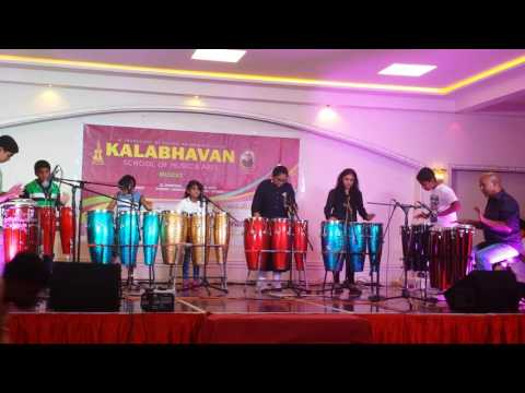 Congo drums performance kalabhavan father Abels anniversary 2016