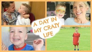 A DAY IN MY CRAZY LIFE