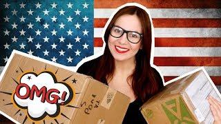 UNBOXING | Otwieram paczki z USA!