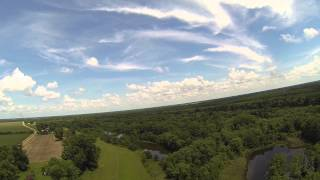FPV Flight Showing the Ouachita River