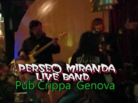 PERSEO MIRANDA Live Band-