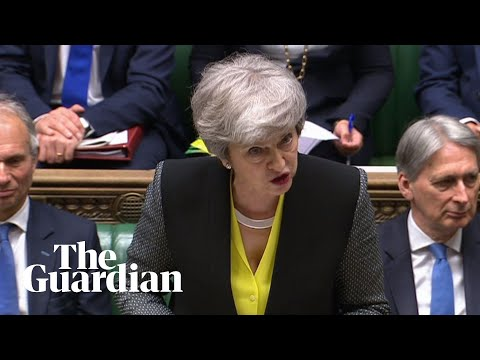 Theresa May refuses to criticise Johnson's no-deal Brexit claims