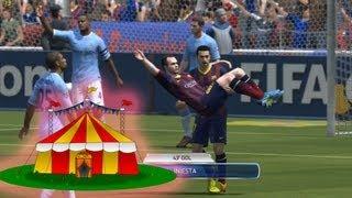 FIFA 14 Celebración: Le Cirque Labelle(Circo Maroma Teatro) - Tutorial - PS3/X360/PC - HD