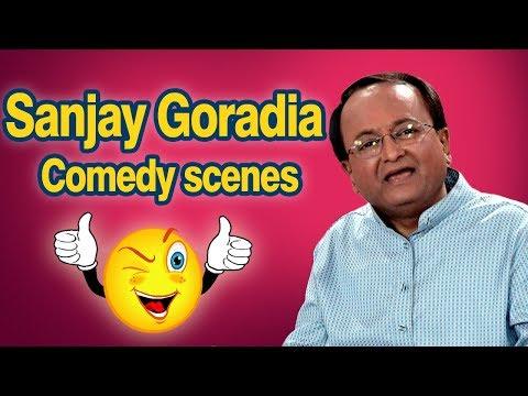 Best of Sanjay Goradia : Top 15 Comedy Scenes from New Gujarati Comedy Natak 2017