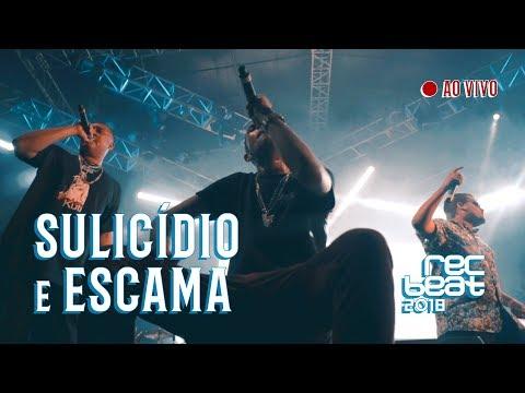 """Diomedes Chinaski & Luiz Lins """"SULICIDIO / ESCAMA"""" AO VIVO no Festival Rec Beat 2018"""