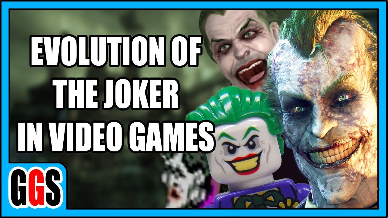 EVOLUTION OF THE JOKER IN VIDEO GAMES DOCU SERIES YouTube - Docu games