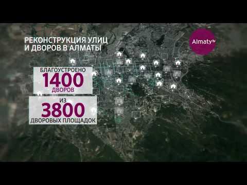 Население Алматы к 2035 году составит 3 миллиона жителей (03.09.18)