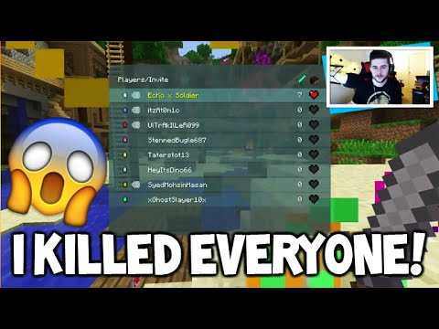 I KILLED EVERYONE!! - Minecraft Console Edition BATTLE Mini-Game FLAWLESS VICTORY!!