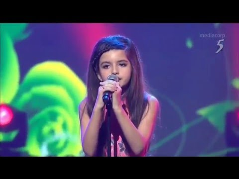 Angelina Jordan - What a Diff'rence a Day Makes - Singapore TV - 2015