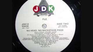 FU2 - No Head, No Backstage Pass (Album Version) (1992)