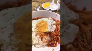 Korean Food …