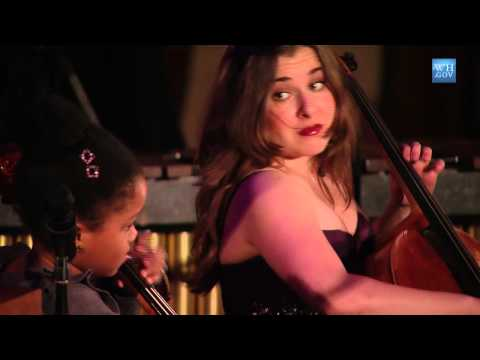 Alisa Weilerstein and Sujari Britt Perform at the White House: 4 of 8
