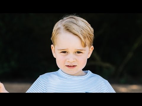 Prince George Turns 3! Watch His 8 Most Adorable Moments Ever