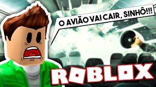 The BOY WITH FEAR OF AIRPLANE IN ROBLOX → Roblox funny moments #158 😂🎮