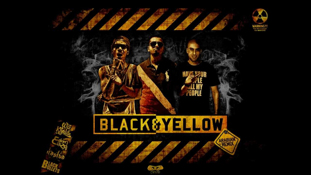 wiz khalifa black and yellow - HD1032×774