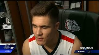 Gonzaga's Pete Moves From Manager To Player