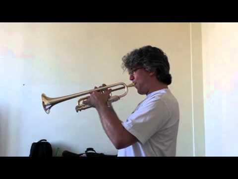 CONCONE - Lyrical Studies for trumpet - N. 18 - Allegro vivo