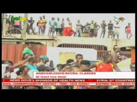 Ghana: Ethnic clashes leave 2 dead at Agbogbloshie