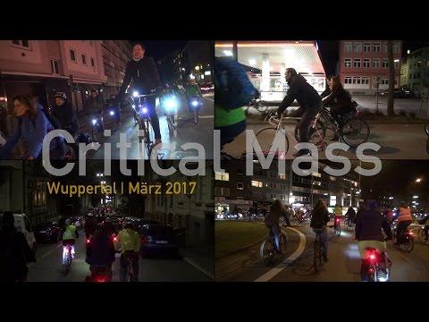 Critical Mass Wuppertal - März 2017