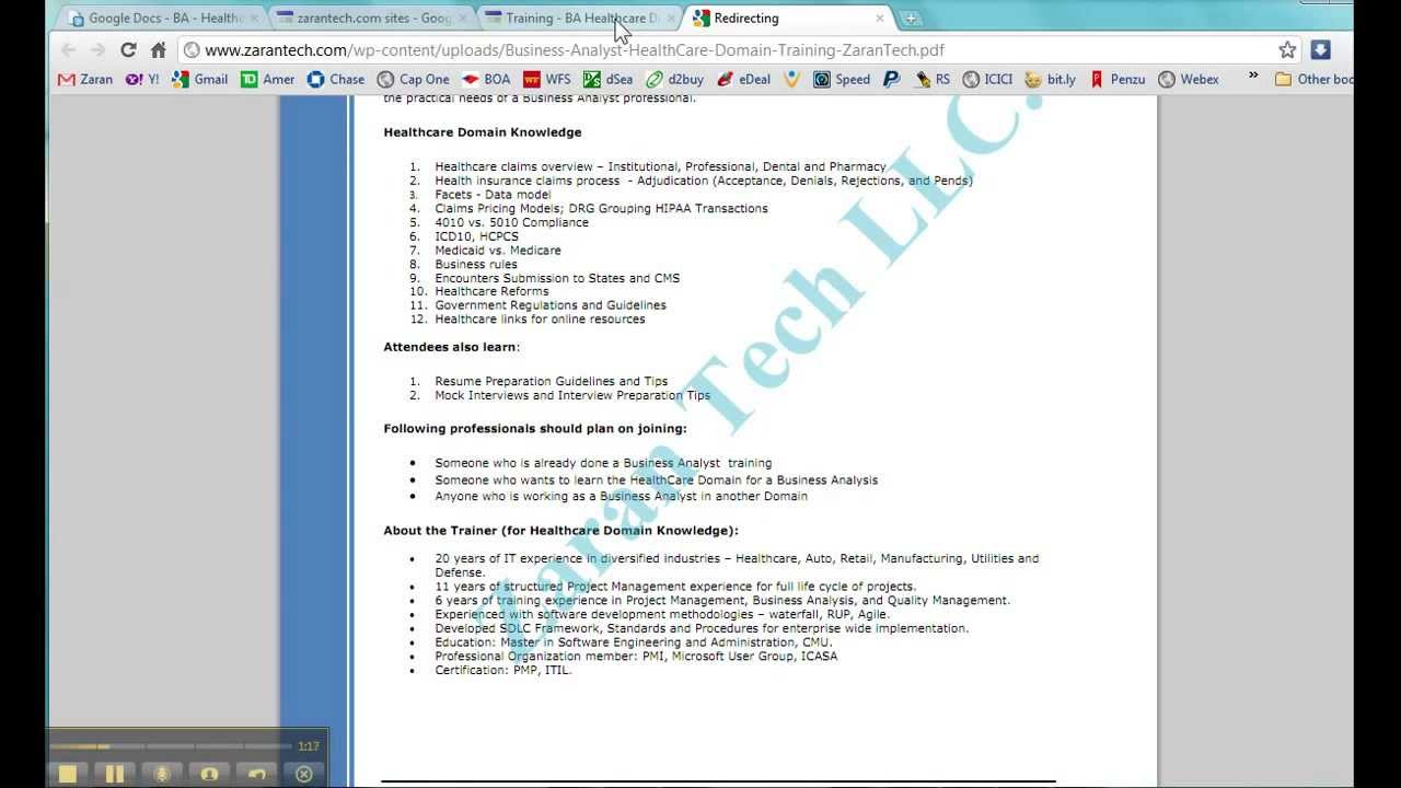 Healthcare Domain Knowledge Pdf