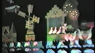 Disneyland It's A Small World 1986