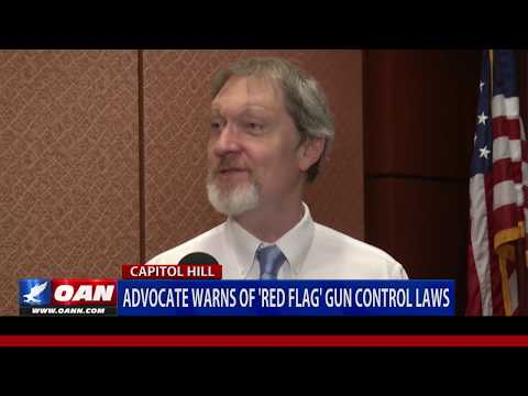 Advocate warns of 'red flag' gun control laws