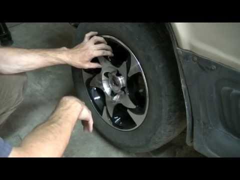 Проверка подшипников передних колёс. Ваз классика.