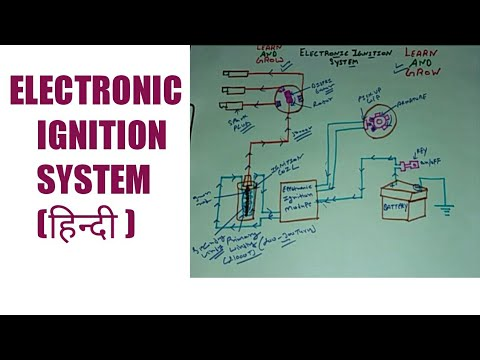 ELECTRONIC IGNITION SYSTEM (हिन्दी )! LEARN AND GROW