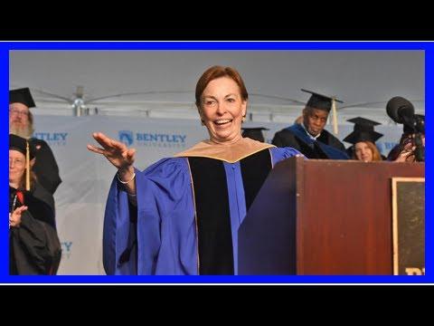 Breaking News | Bentley president Gloria Larson: I'm graduating, too