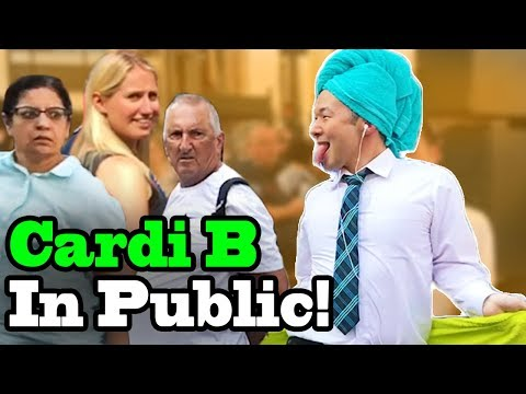 Cardi B, Bad Bunny, J Balvin - I Like It - SINGING IN PUBLIC!!